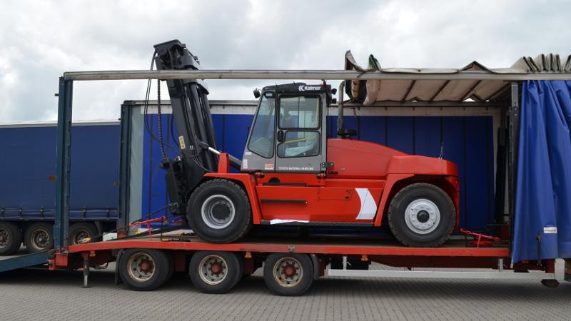 Kalmar 16 tons gaffeltruck