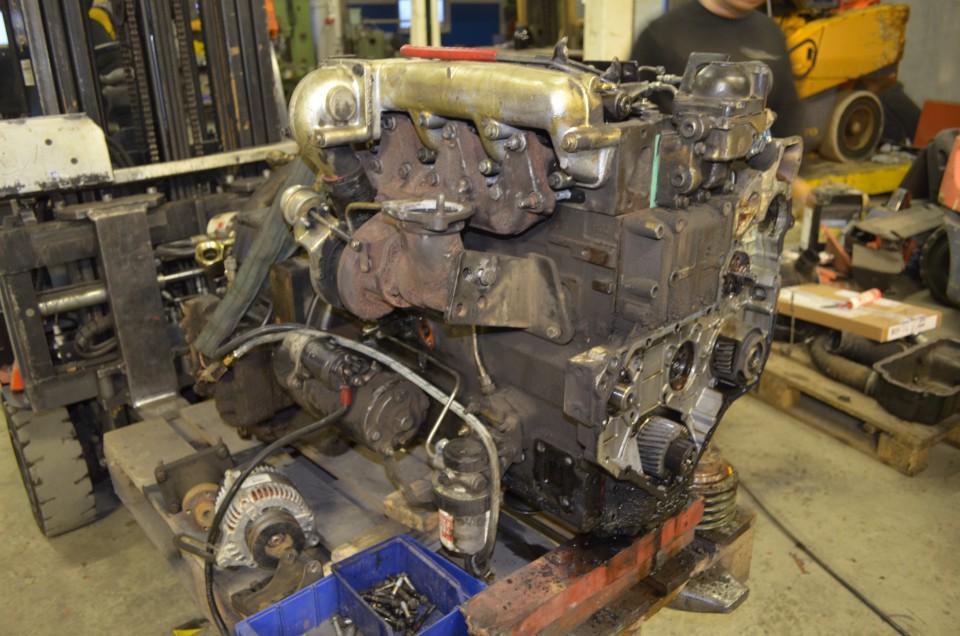 Reperation af dieselmotor